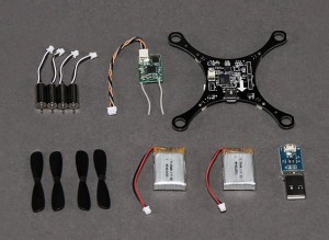 HobbyKing Pocket Quad Ultra-Micro DSM2 MultiWii Quadcopter (PNF)
