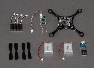 HobbyKing Pocket Quad Ultra-Micro DSM2 MultiWii Quadcopter (PNF)