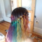 Rainbow Hair w. Joico + Waterfall braid (OHSummit projects)