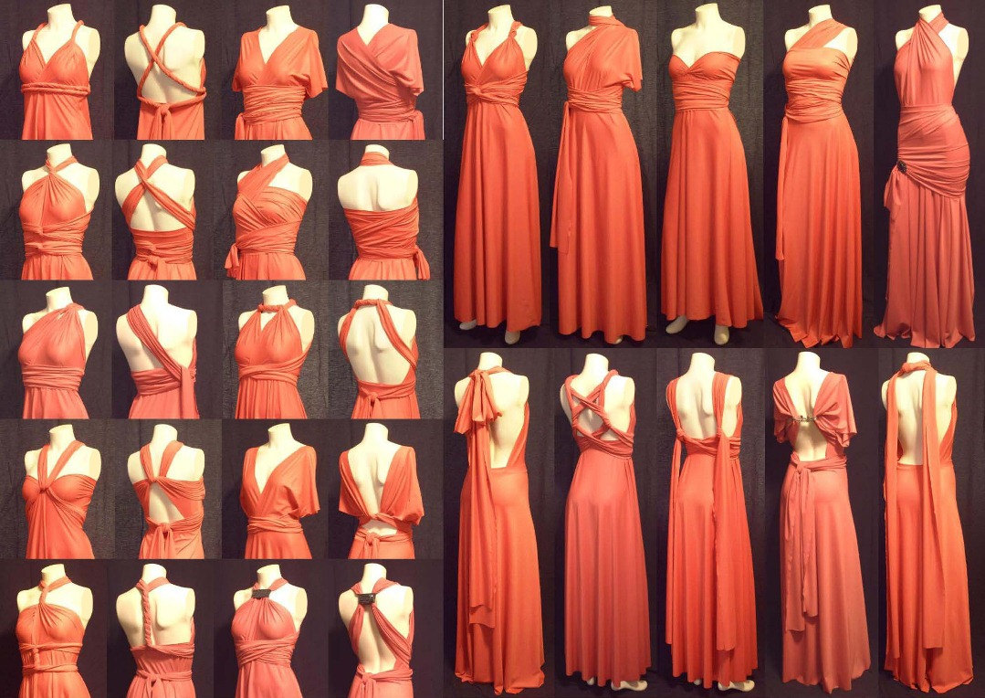 Infinity Dress Attempt In 8 Hours Orange Narwhals