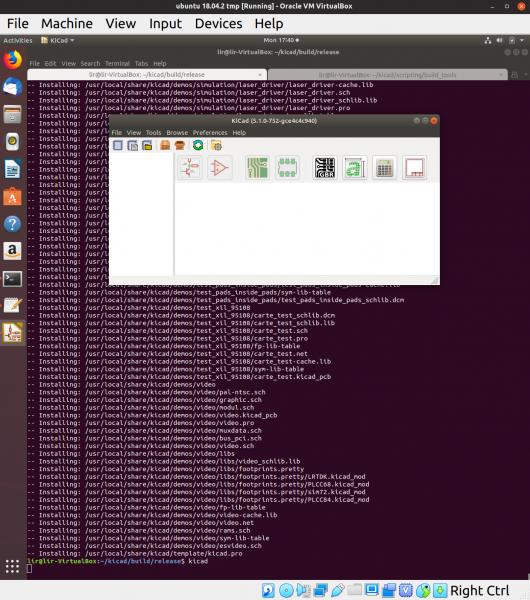 Building KiCad 5 1 0 From Source – on Ubuntu 18 04 | orange